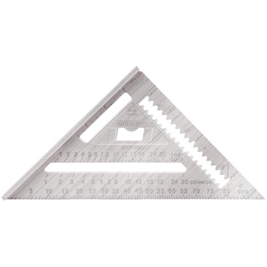 Johnson Level Johnny Square 7 In. Aluminum Professional Rafter Square