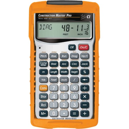 Calculated Industries Construction Master Pro Project Calculator