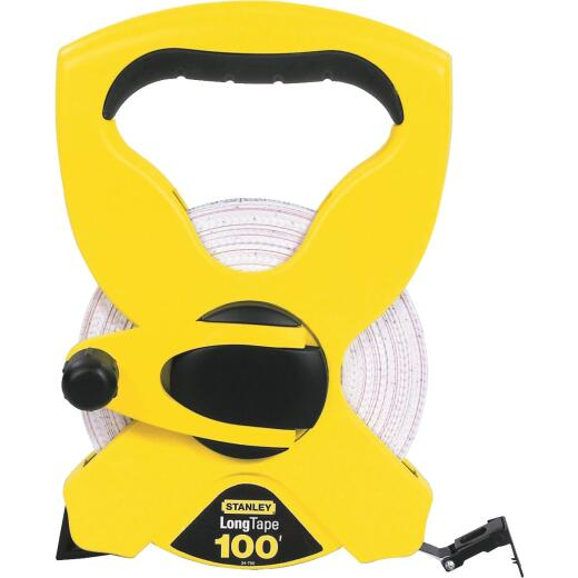 Stanley 100 Ft. Fiberglass Open Reel Tape