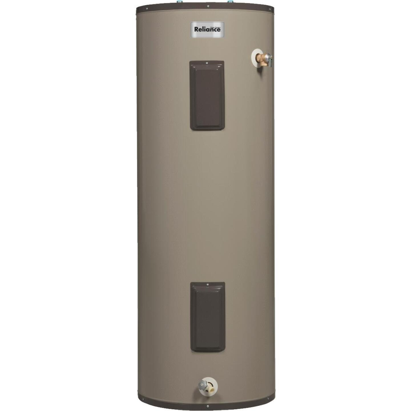 Reliance 50 Gal. Tall 9yr Self-Cleaning 4500/4500W Elements Electric Water Heater Image 1