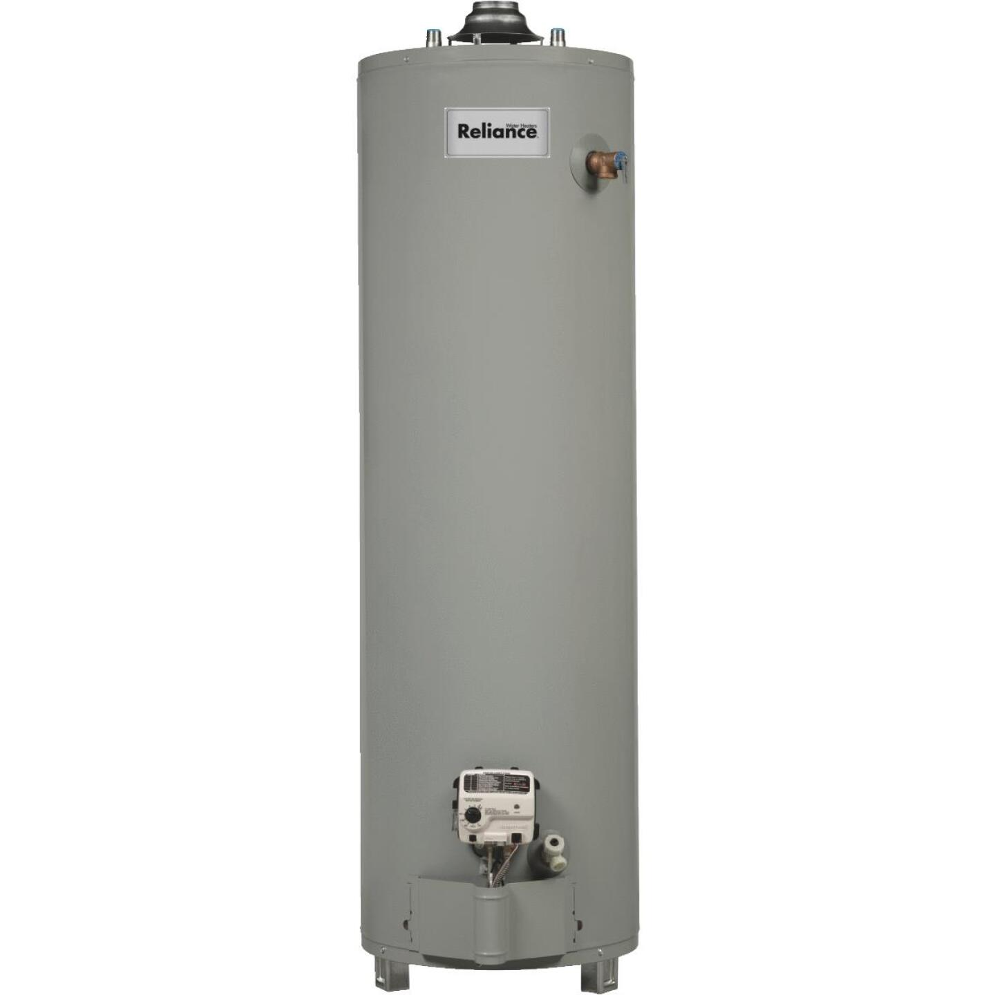 Reliance 30 Gal. Tall Ultra Low NOx 6yr 40,000 BTU Natural Gas Water Heater Image 1