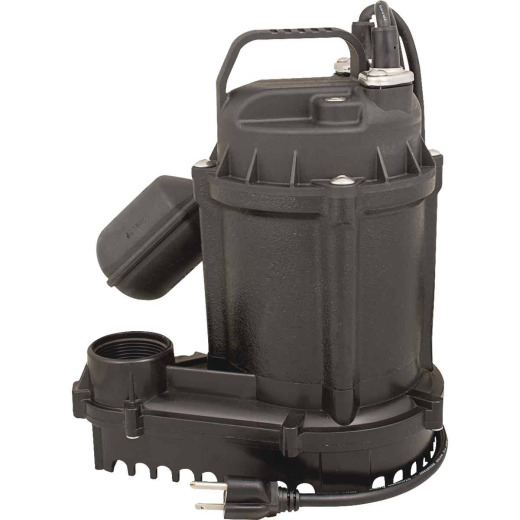 Do it Best 1/2 HP 115V Effluent and Submersible Sump Pump