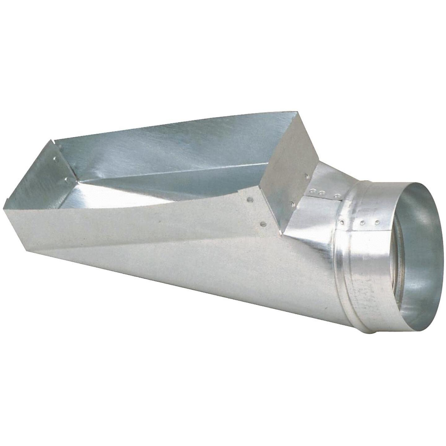 Imperial 30 Ga. 4 In. x 12 In. x 6 In. Galvanized End Boot Image 1