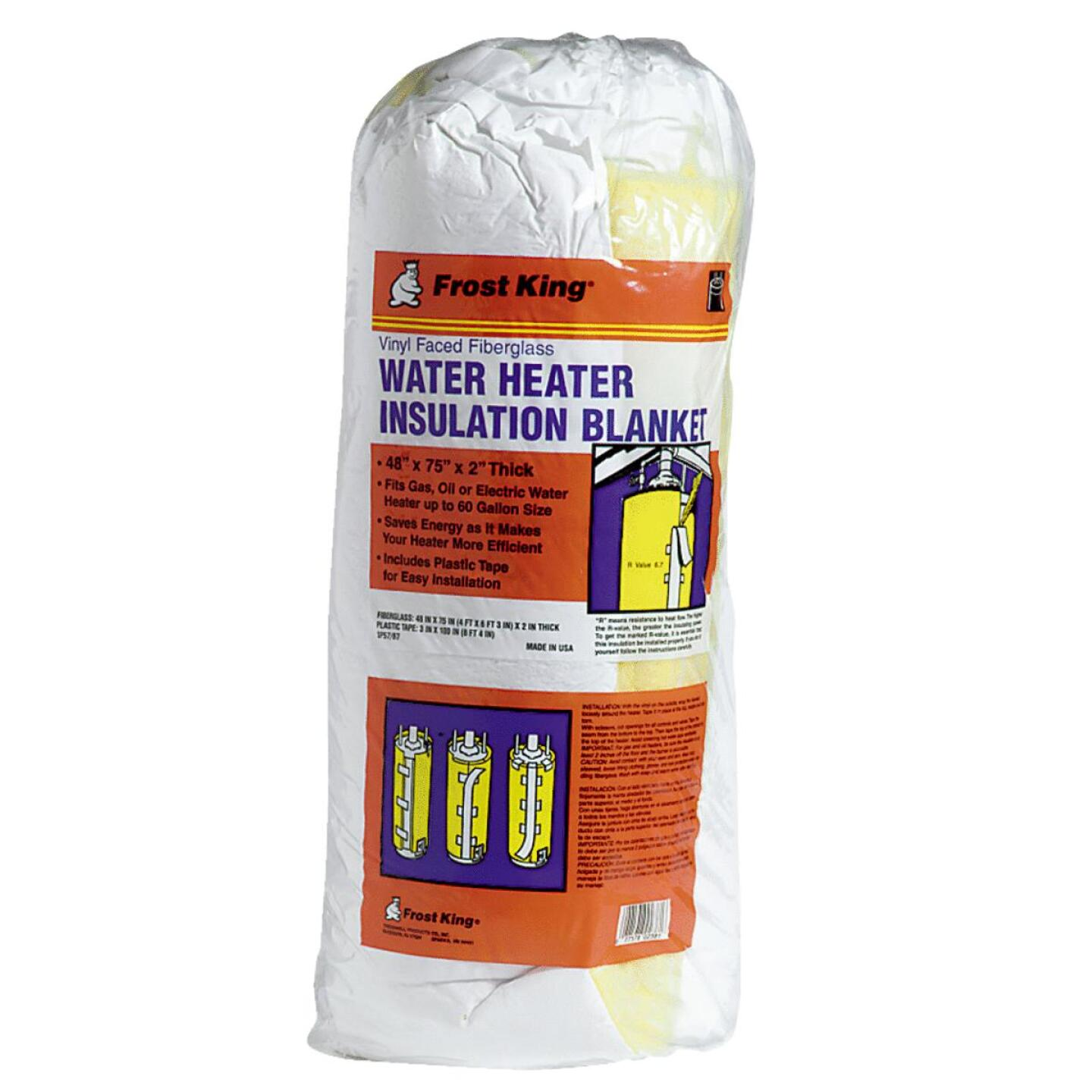 Frost King 2 In. Water Heater Insulation Jacket 6.7-R Value Image 1