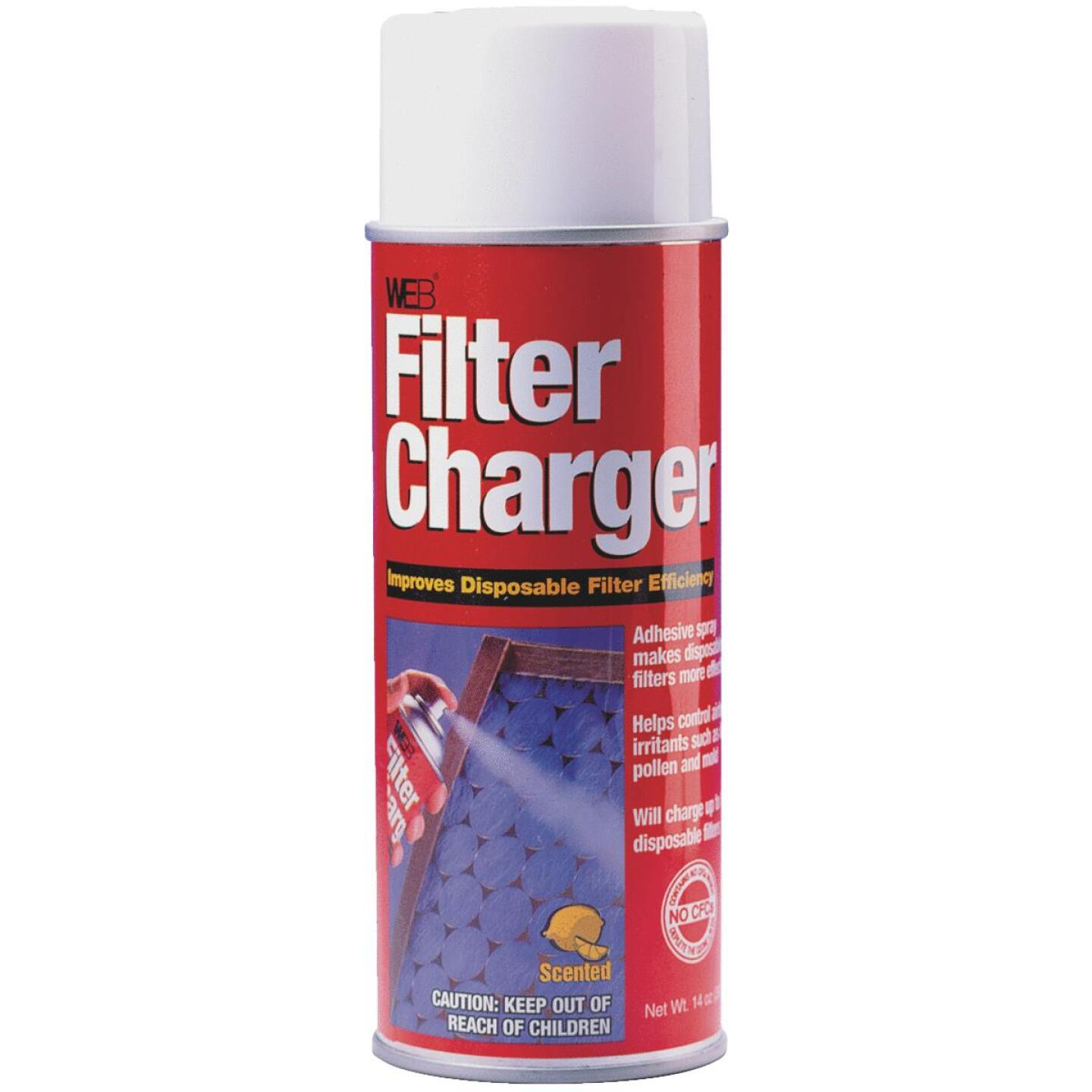 Web 14 Oz. Aerosol Filter Charger Furnace/Air Conditioner Filter Spray Image 1