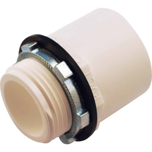 Oatey 1 In. Solvent X 1 In. MIP Water Heater Pan Adapter
