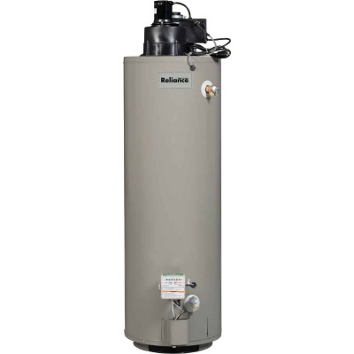 Reliance 50 Gal. 6yr 50,000 BTU High Recovery Natural Gas Water Heater with Power Vent