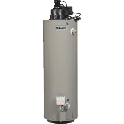 Reliance 40 Gal. Tall 6yr 50,000 BTU Liquid Propane (LP) Gas Water Heater with Power Vent