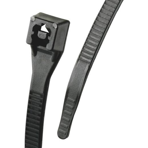 Gardner Bender Xtreme Ties 14 In. x 0.17 In. Black Nylon Cable Tie (100-Pack)