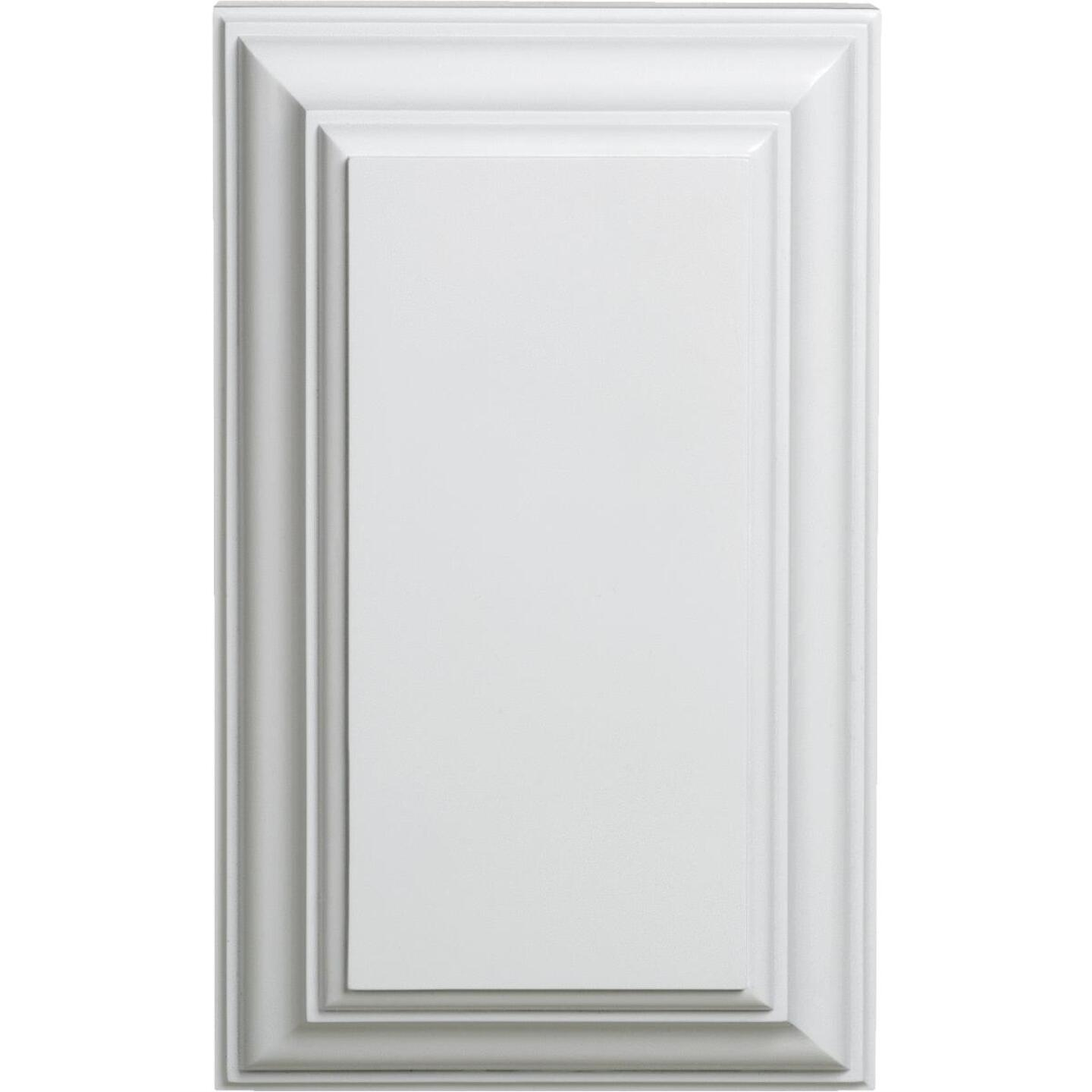 IQ America Wired White Contemporary Door Chime Image 1