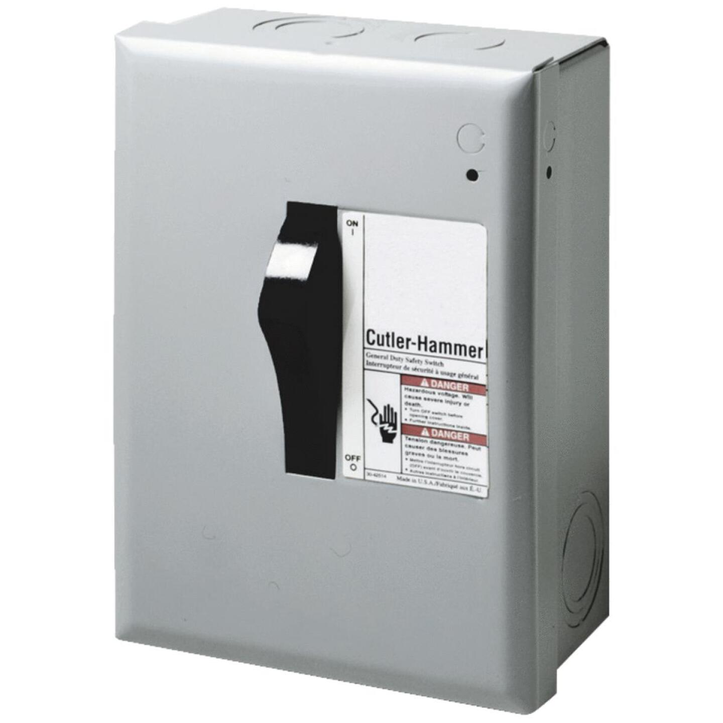 Eaton 30A DP Series Indoor Safety Switch Image 1