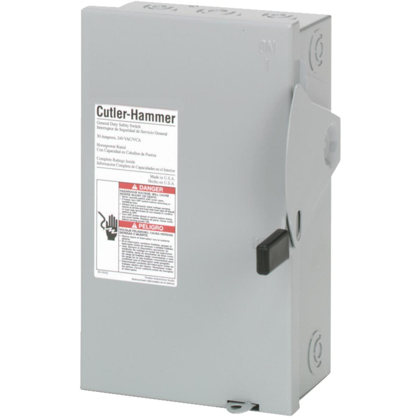 Eaton 30A DG Series Indoor General-Duty Safety Switch Image 1