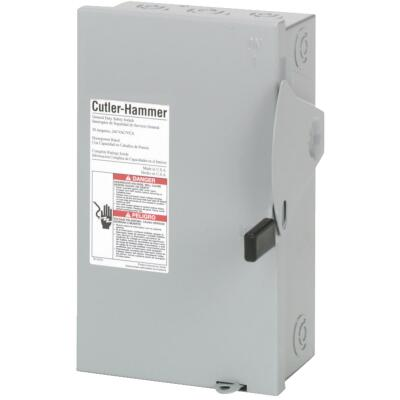 Eaton 30A DG Series Indoor General-Duty Safety Switch