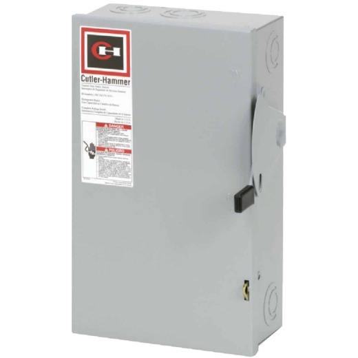 Eaton 60A DG Series Indoor General-Duty Safety Switch