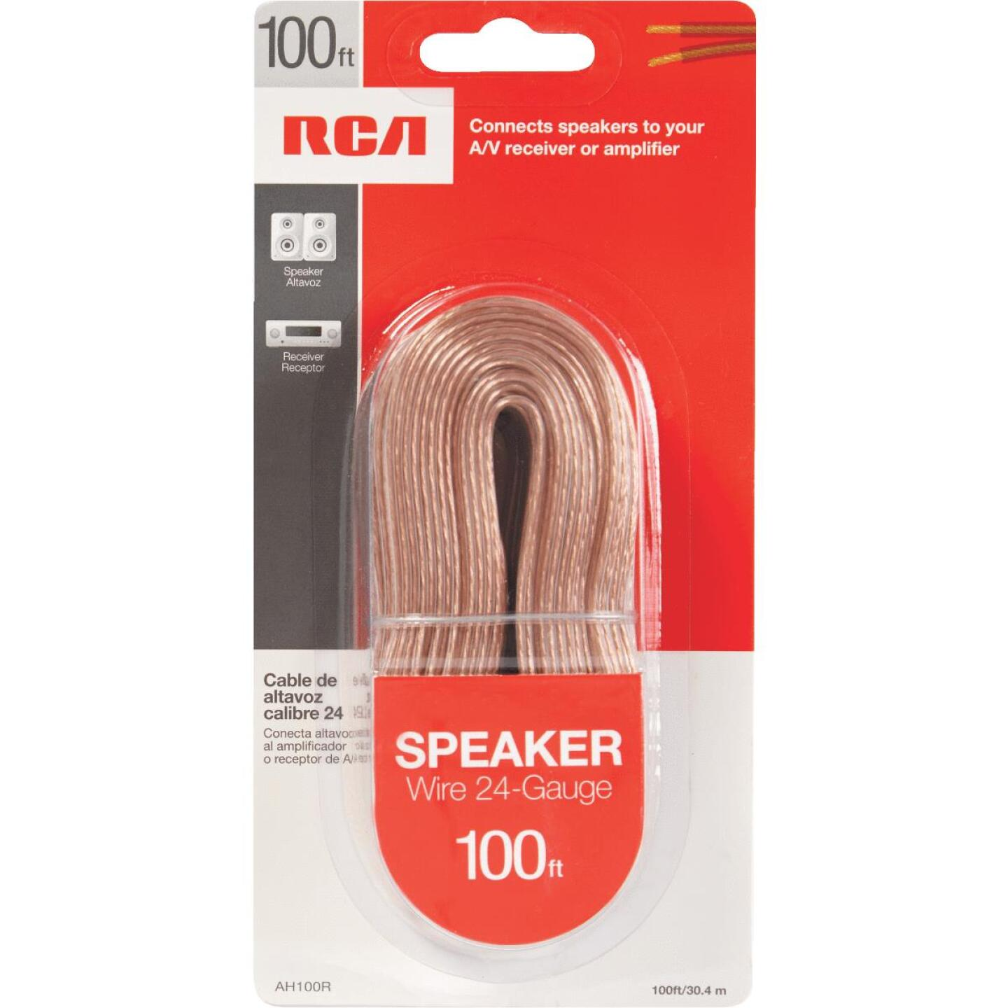 RCA 100 Ft. 24-2 Stranded Speaker Wire Image 3