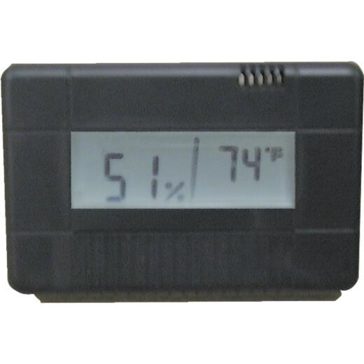 Essick Air Fahrenheit Digital -50 to 106 Degrees F Hygrometer & Thermometer