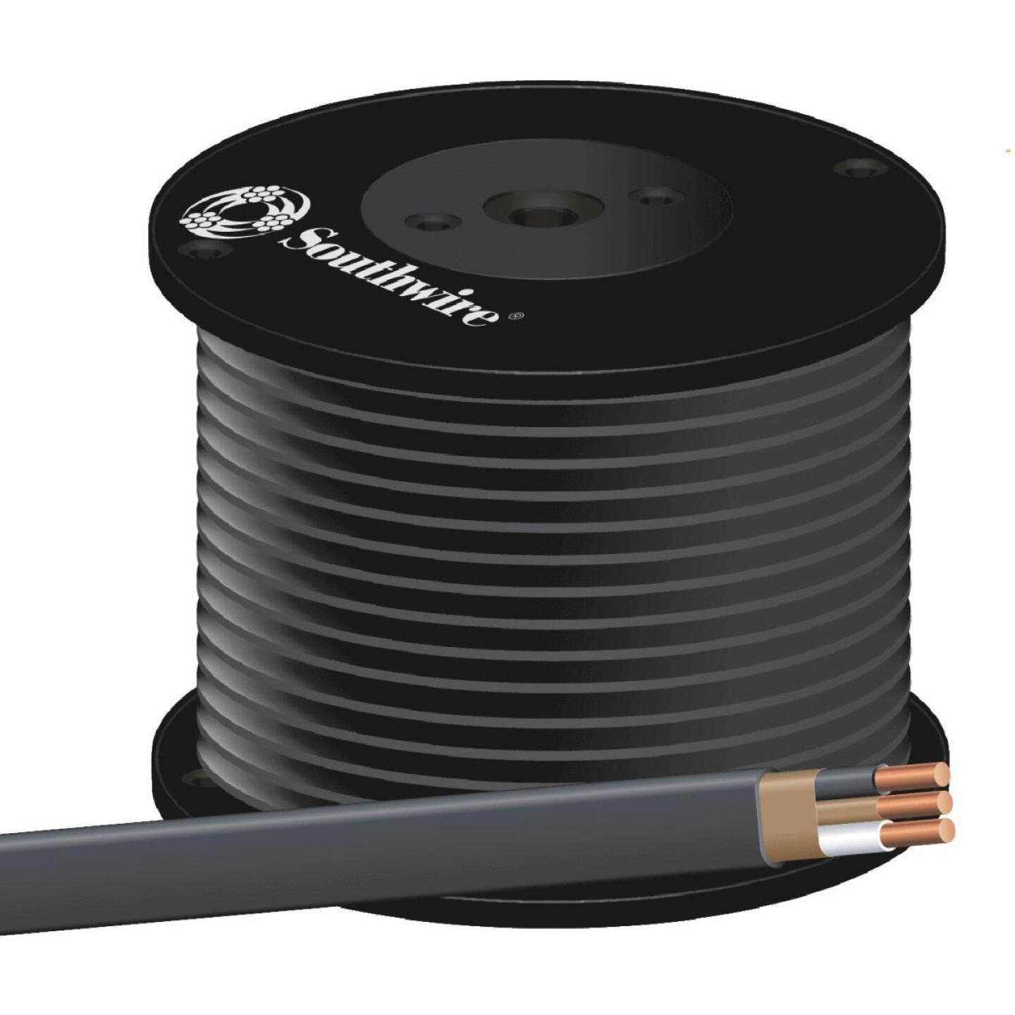 Romex 500 Ft. 6-2 Solid Black NMW/G Wire Image 1