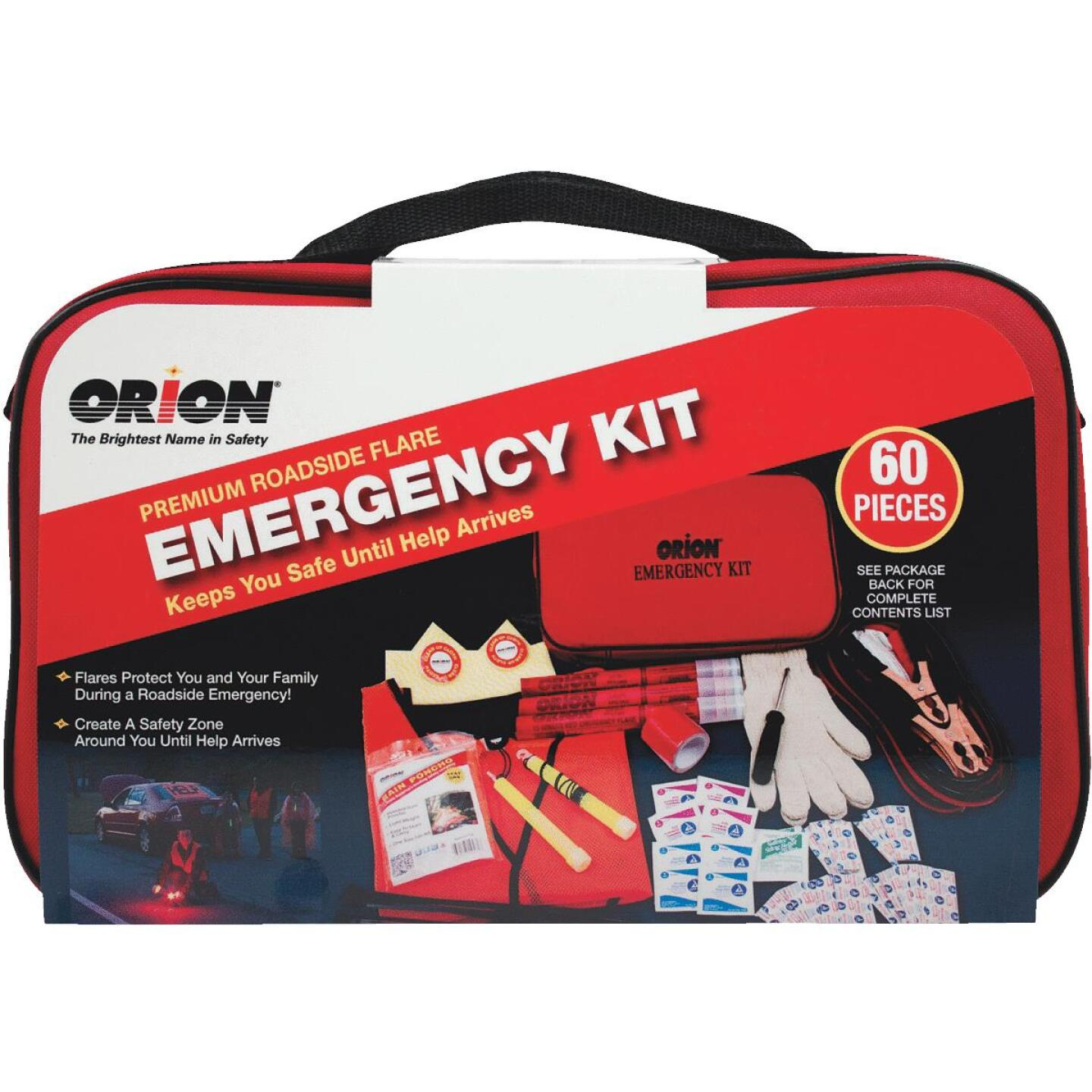 Orion Premium Emergency Road Kit (60-Piece) Image 1