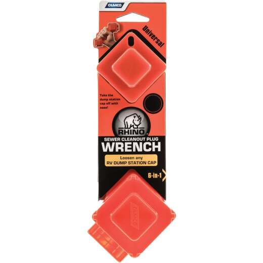Camco RhinoFLEX RV Sewer Cleanout Plug Wrench