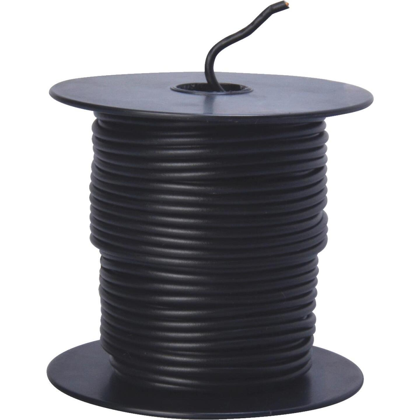 ROAD POWER 100 Ft. 16 Ga. PVC-Coated Primary Wire, Black Image 1