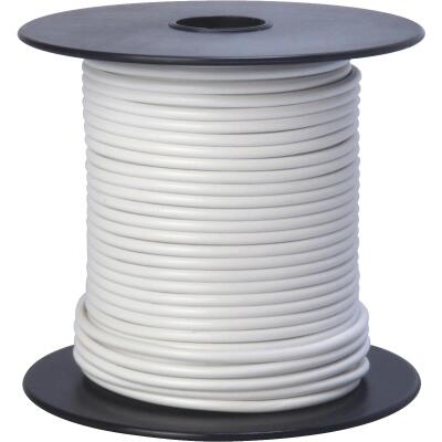ROAD POWER 100 Ft. 16 Ga. PVC-Coated Primary Wire, White