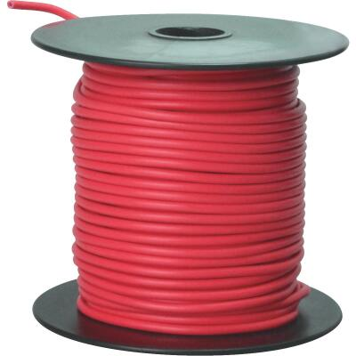 ROAD POWER 100 Ft. 16 Ga. PVC-Coated Primary Wire, Red