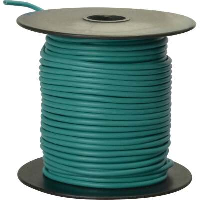 ROAD POWER 100 Ft. 16 Ga. PVC-Coated Primary Wire, Green