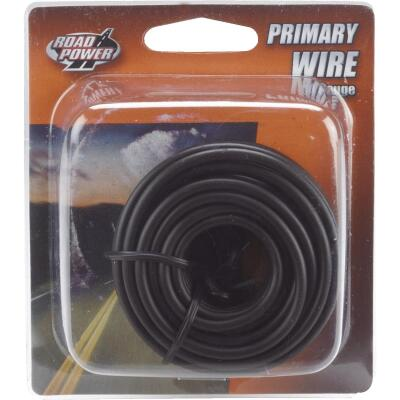 ROAD POWER 17 Ft. 14 Ga. PVC-Coated Primary Wire, Black