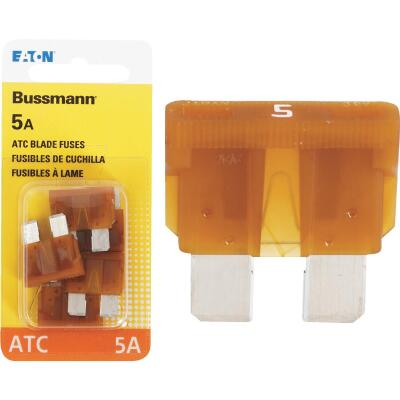 Bussmann 5-Amp 32-Volt ATC Blade Automotive Fuse (4-Pack)