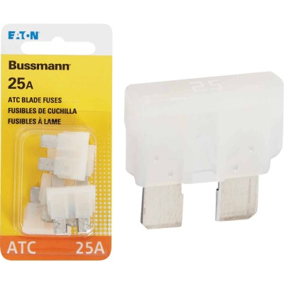 Bussmann 25-Amp 32-Volt ATC Blade Automotive Fuse (4-Pack)