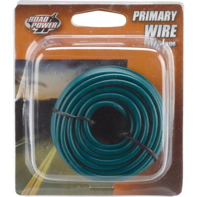 ROAD POWER 24 Ft. 16 Ga. PVC-Coated Primary Wire, Green