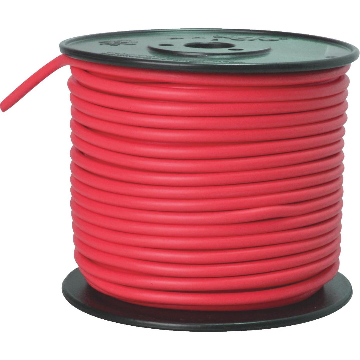 ROAD POWER 100 Ft. 10 Ga. PVC-Coated Primary Wire, Red Image 1