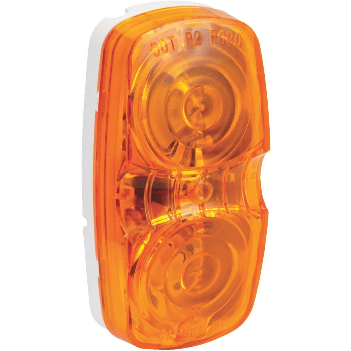 Peterson Low-Profile 12 V. Amber Clearance Light Image 1