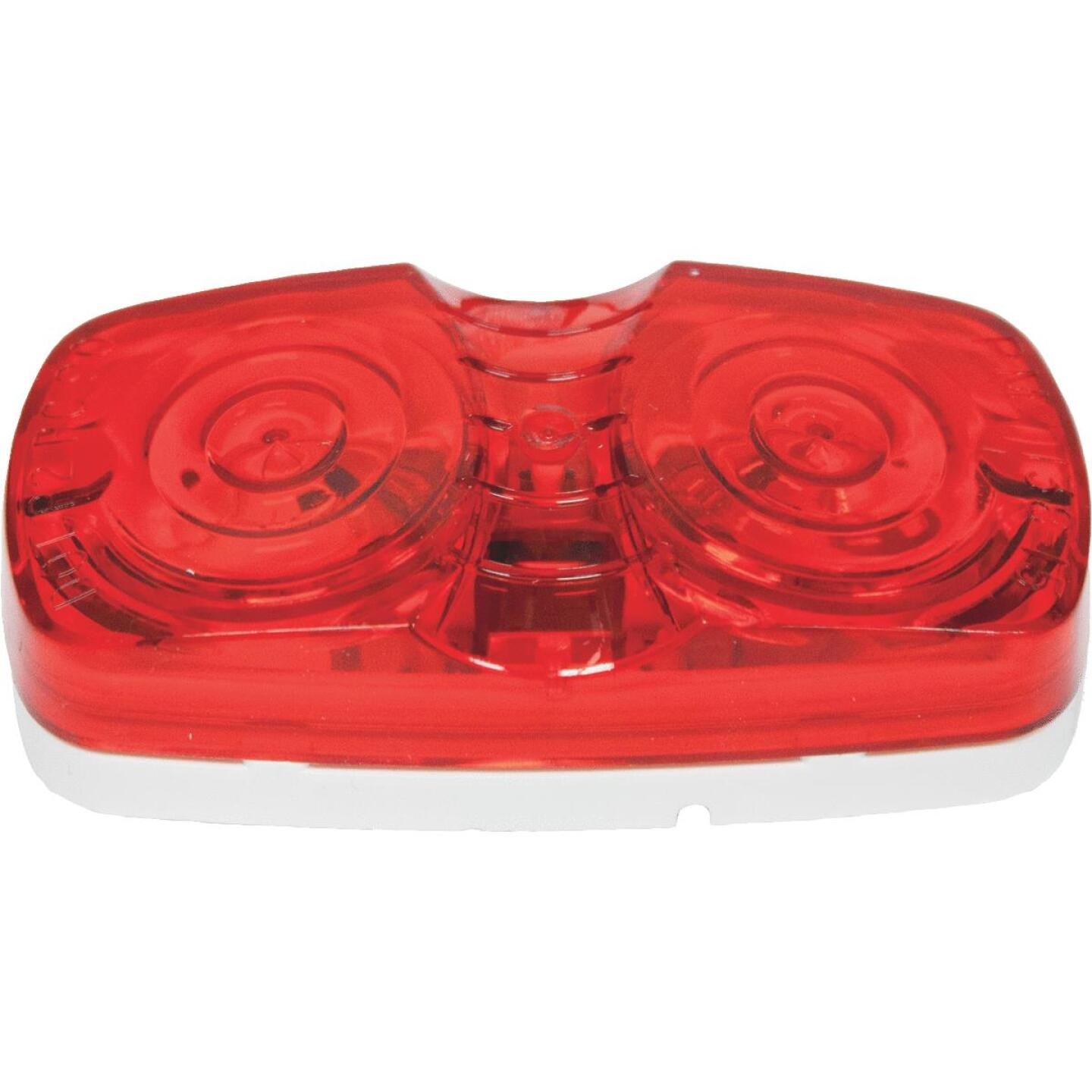 Peterson Low-Profile 12 V. Red Clearance Light Image 1