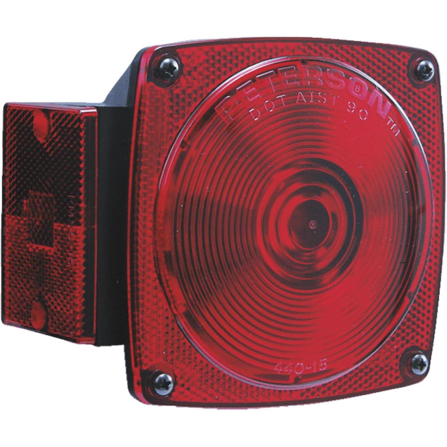 Peterson 12 V. 8-Functions Red Combination Lamp Image 1