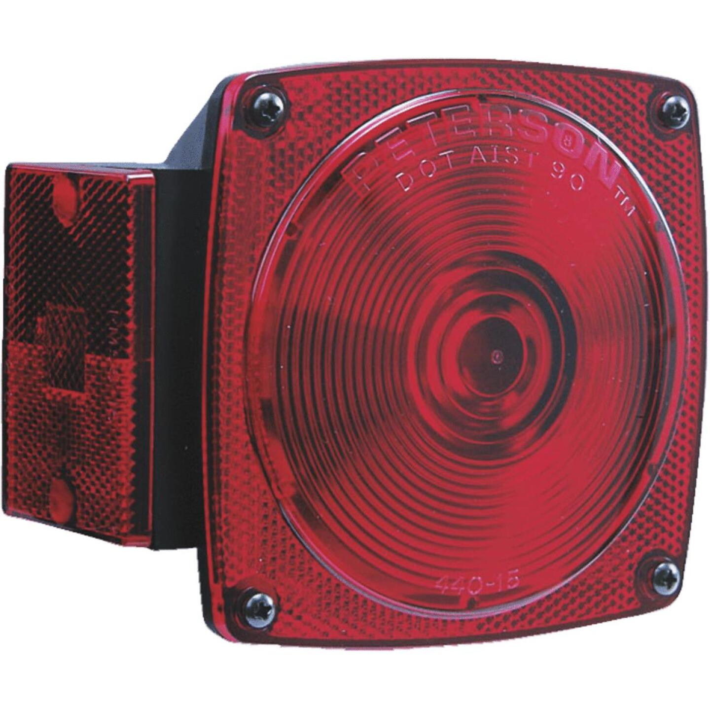 Peterson 12 V. 6-Functions Red Combination Lamp Image 1