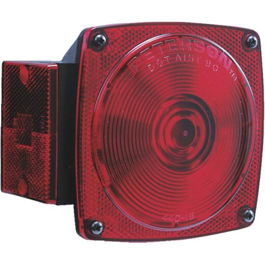 Peterson 12 V. 6-Functions Red Combination Lamp