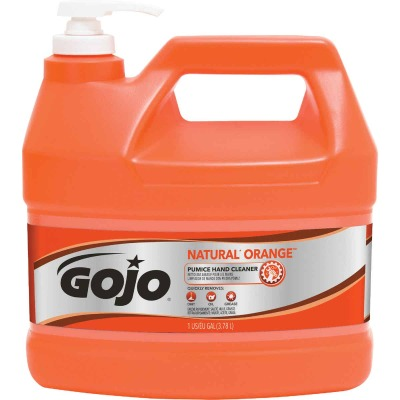 GOJO Natural Orange 1 Gal. Pump Pumice Hand Cleaner