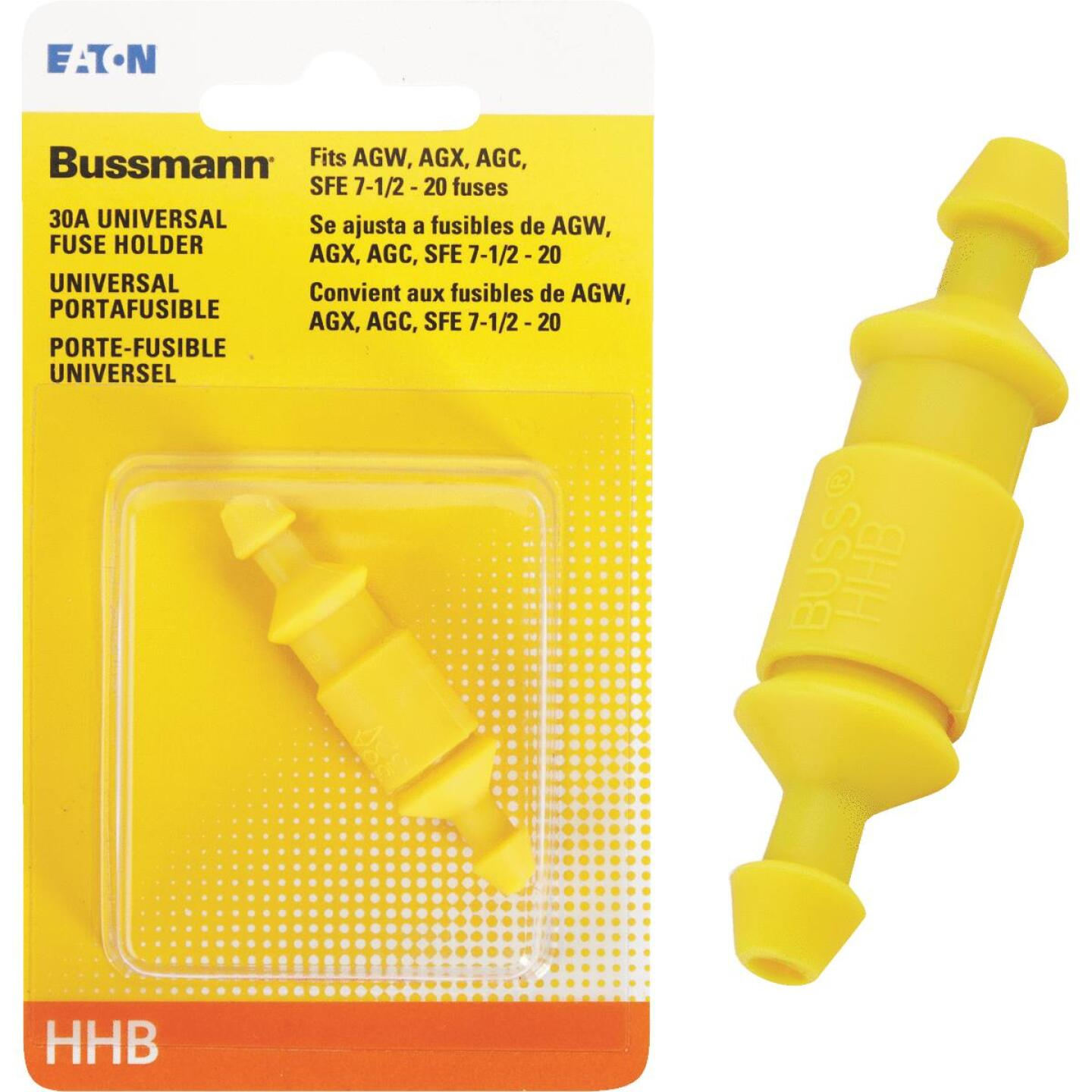 Bussmann 30-Amp #12 to #16 Universal Glass Tube Inline Fuse Holder Image 1