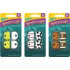 Lucky Line Vinyl Specialty Key Identifier Cap, Sports (4-Pack) Image 1