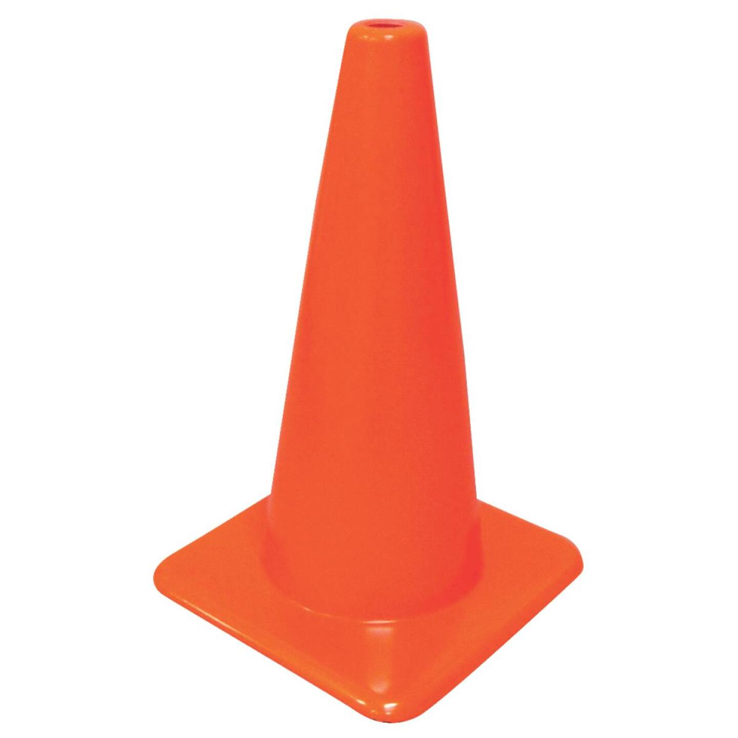 Hyko 18 In. H Orange Safety Cone Image 1