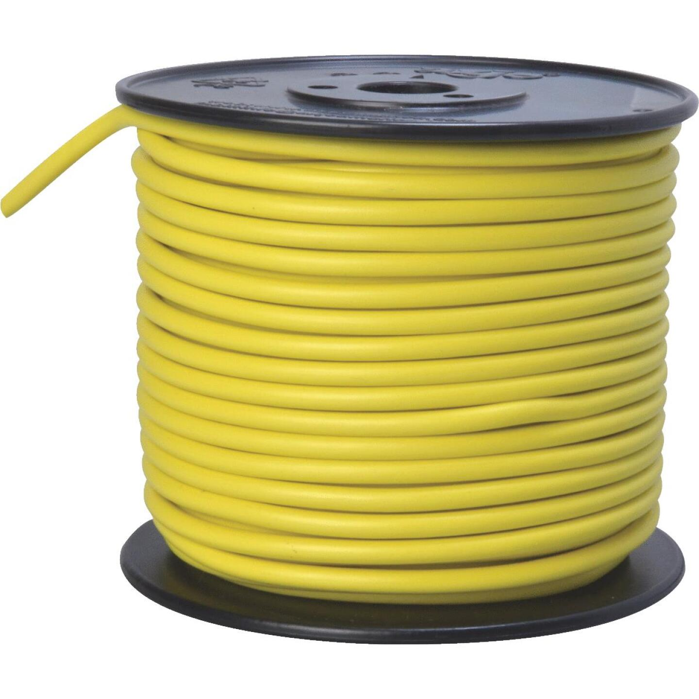 ROAD POWER 100 Ft. 10 Ga. PVC-Coated Primary Wire, Yellow Image 1
