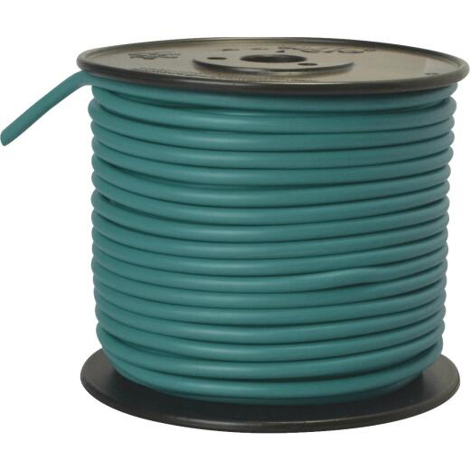 ROAD POWER 100 Ft. 10 Ga. PVC-Coated Primary Wire, Green