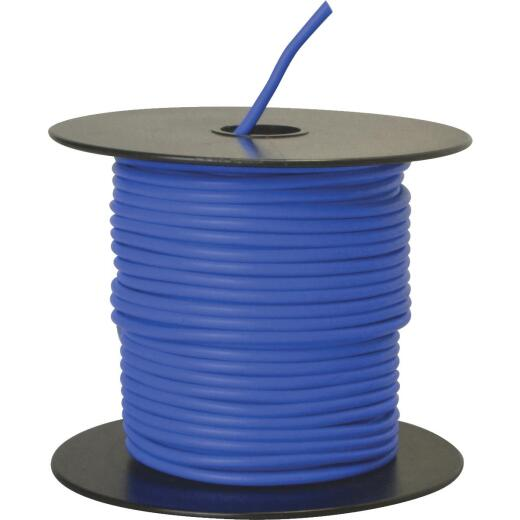 ROAD POWER 100 Ft. 14 Ga. PVC-Coated Primary Wire, Blue