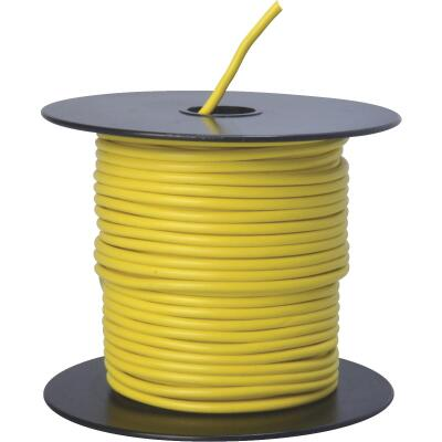 ROAD POWER 100 Ft. 14 Ga. PVC-Coated Primary Wire, Yellow