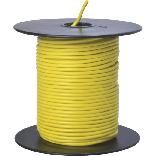 ROAD POWER 100 Ft. 18 Ga. PVC-Coated Primary Wire, Yellow
