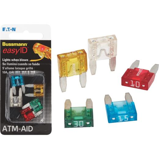 Bussmann ATM Easy ID Blade Fuse Assortment
