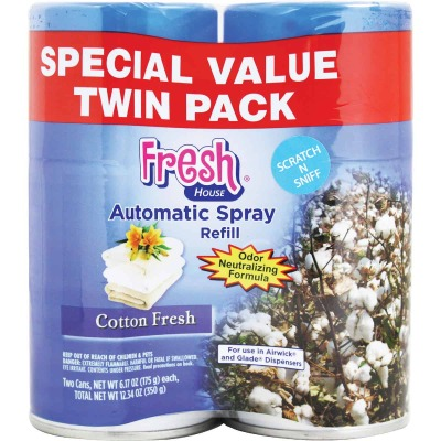 Fresh House Cotton Fresh Air Freshener Refill (2-Count)