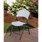 Lifetime White Granite Light Commercial Folding Chair Image 2