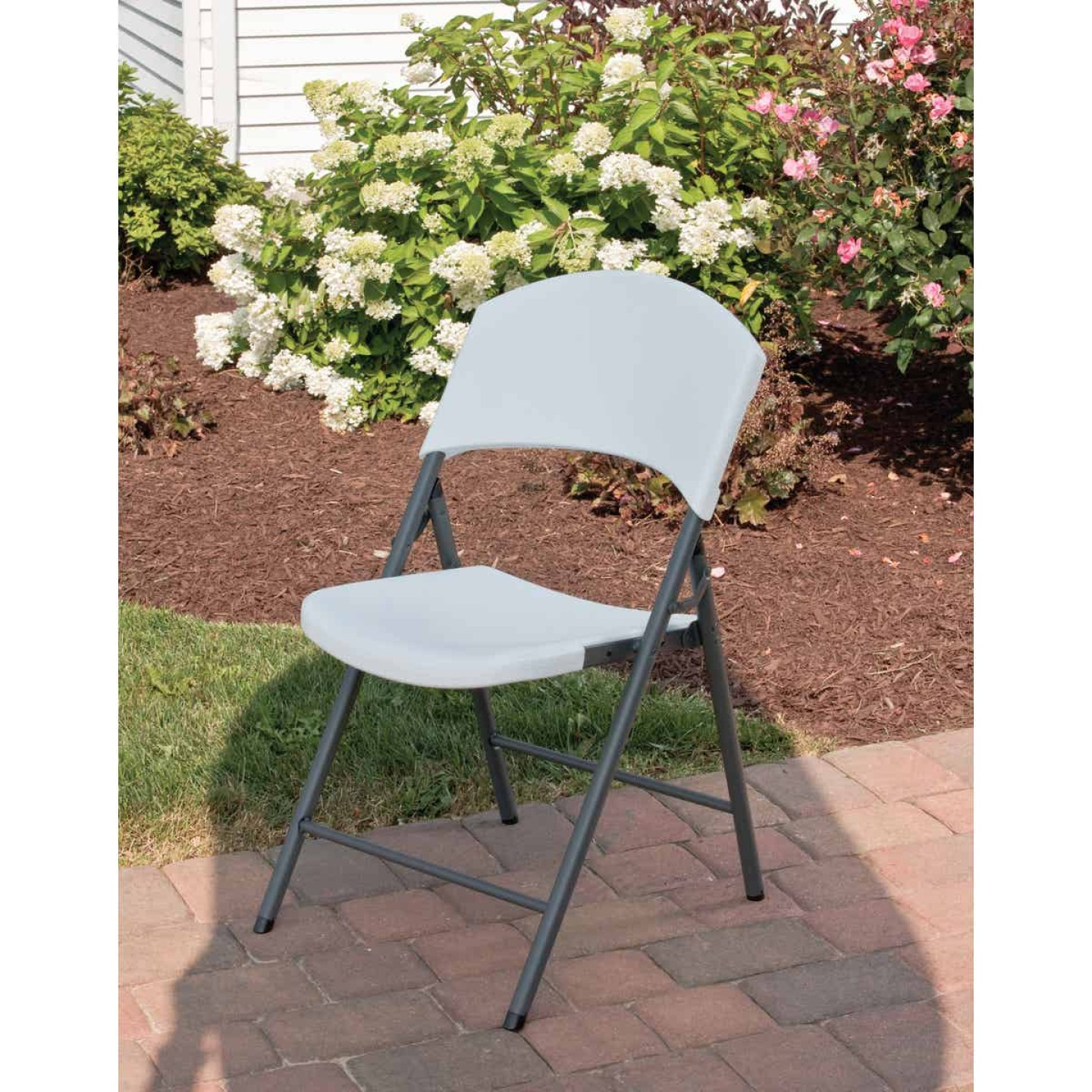 Lifetime White Granite Light Commercial Folding Chair Image 3
